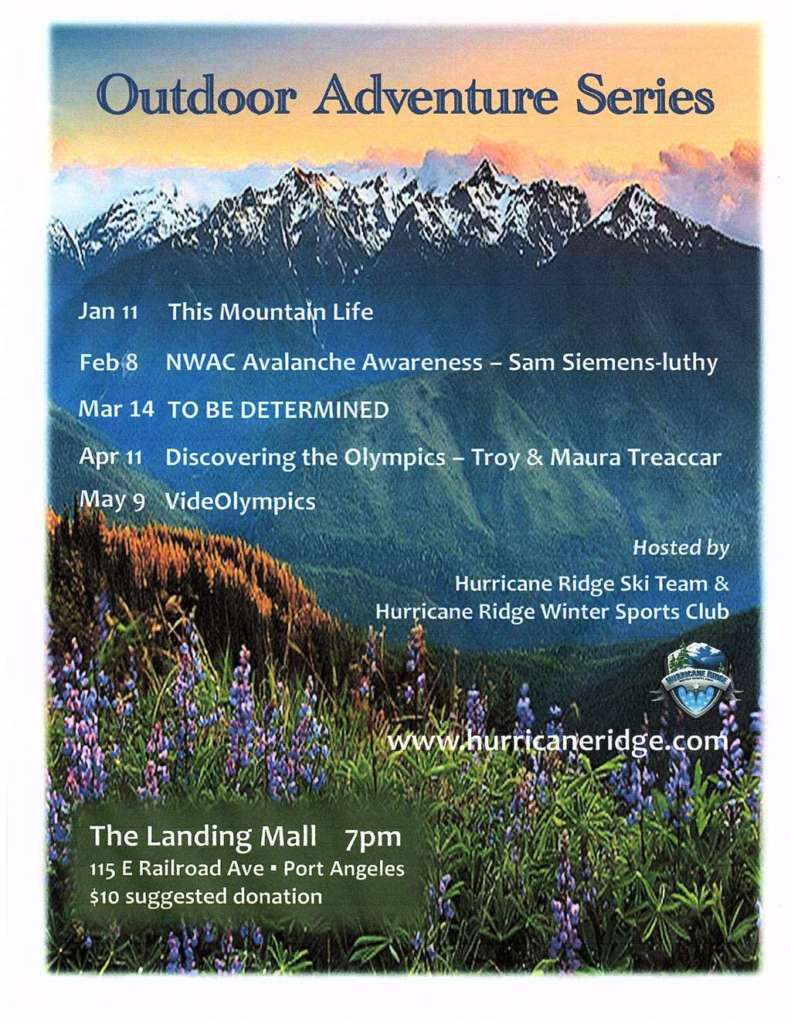 Hurricane Ridge Outdoor Adventure Series @ Landing Mall
