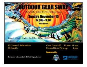 Gear Swap @ Vern Burton Center